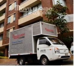 Camioneta para trasladar objetos delicados