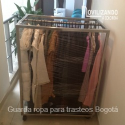 Guarda ropa para mudanzas Bogotá