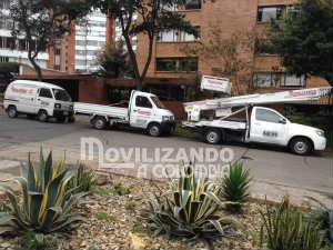 camionetas para mudanzas en Bogotá