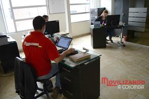 Oficinas movilizando a colombia
