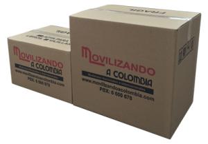 Cajas para mudanzas en Bogotá