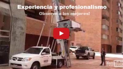 Miniatura de vídeo de youtube; invitando a observar vídeos de servicios de Movilizando a Colombia; para demostrar nuestra experiencia y profesionalismo.